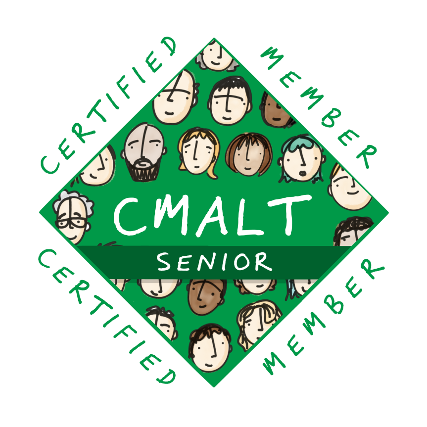 Senior CMALT Award Badge #cmaltcmooc #sotelnz